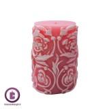 شمع تزئینی استوانه ای مدل اسلیمی افروز