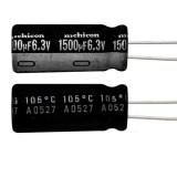 خازن الکترولیتی 1500 میکروفاراد 6.3 ولت Nichicon