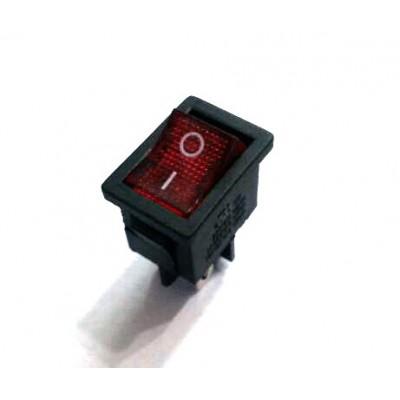 کلید راکر چراغدار 4 پایه