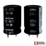 خازن الکترولیتی 470 میکروفاراد 250 ولت Nichicon