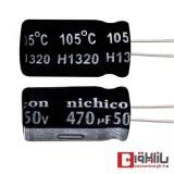 خازن الکترولیتی 470 میکروفاراد 50 ولت Nichicon