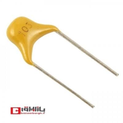 خازن مولتی لایر 4.7 نانو فاراد 50 ولت