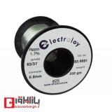 سیم لحیم 0.8 میلی متر 250 گرم electroloy