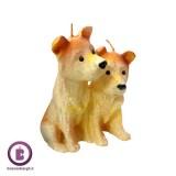 شمع سال 1397 مدل سگ کد 22