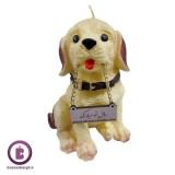 شمع سال 1397 مدل سگ کد 35