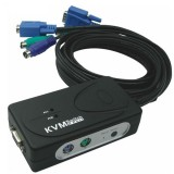 KVM سوئیچ 2 پورت PS2 اتوماتیک