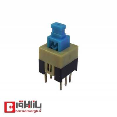 کلید شستی KEY SWITCH-6*6*12-6P