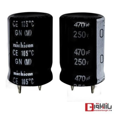 خازن الکترولیتی 10000 میکروفاراد 50 ولت FUJI