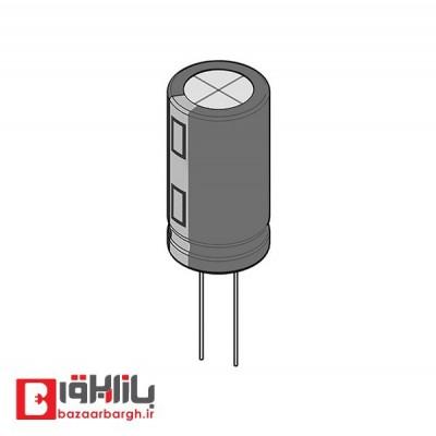 خازن الکترولیتی 330 میکروفاراد 200 ولت