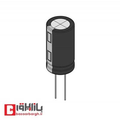 خازن الکترولیتی 6.8 میکروفاراد 400 ولت