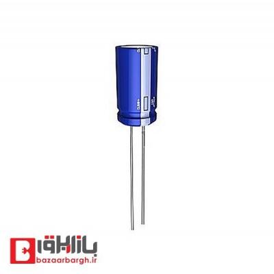خازن الکترولیتی 120 میکروفاراد 450 ولت