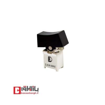 کلید کلنگی با پوش باتوم 3پایه روبردی رایت SMD