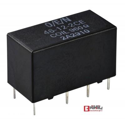 رله مینیاتوری 24VDC -تک کنتاکت 6 پین