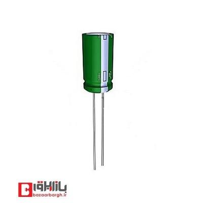 خازن الکترولیتی 3.3 میکروفاراد 50 ولت Nichicon