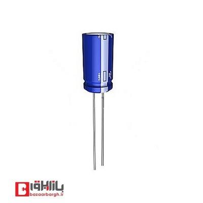 خازن الکترولیتی 100 میکروفاراد 10 ولت Nichicon