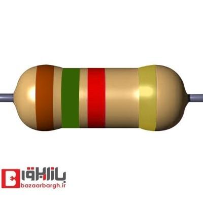مقاومت الکتریکی 1.5کیلواهم 1/4 وات