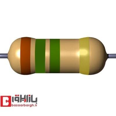 مقاومت الکتریکی 1.5مگااهم 1/4 وات