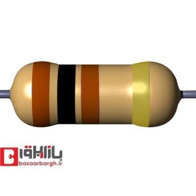 مقاومت الکتریکی 100اهم 1/4 وات