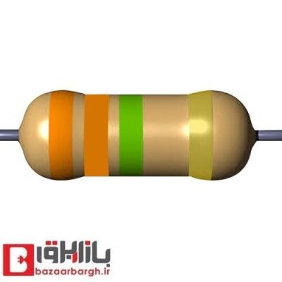 مقاومت 3.3 مگااهم 1 وات