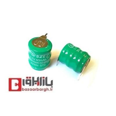 باتری بک آپ 3.6 ولت 60 میلی آمپر شارژی لیتیومی