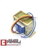 ترانس دوبل (سه سر) 7.5+7.5 ولت 0.5 آمپر