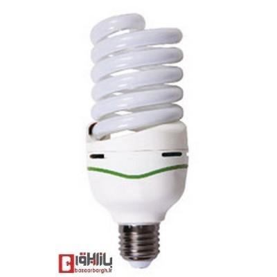 لامپ کم مصرف فنری 45 وات نمانور (E27)