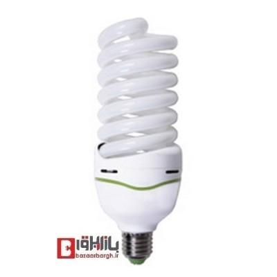 لامپ کم مصرف فنری 60 وات نمانور استاندارد(E27)