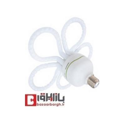 لامپ کم مصرف گلی 80 وات نمانور استاندارد (E27)