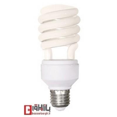 لامپ کم مصرف نیم فنری 26 وات نمانور استاندارد (E27)
