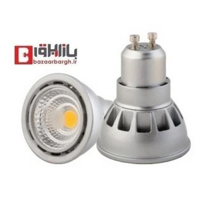 لامپ هالوژن 3 وات GU10 نمانور استاندارد