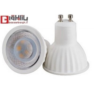 لامپ هالوژن 6 وات GU10 نمانور استاندارد