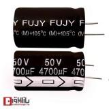 خازن الکترولیتی 4700 میکروفاراد 50 ولت FUJY