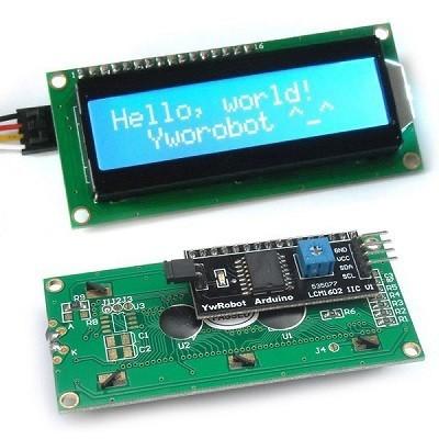 ماژول LCD آردوینو سریال