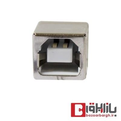 کانکتور مادگی USB پرینتری رایت فلزی