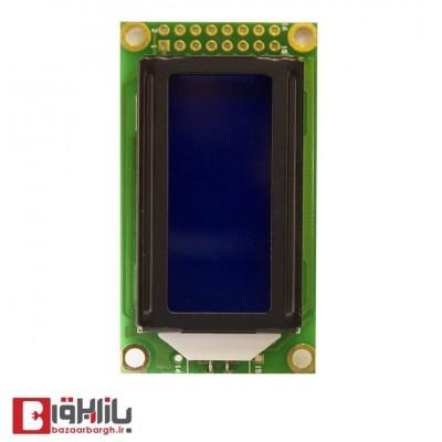 نمایشگر آبی 8*2 LCD