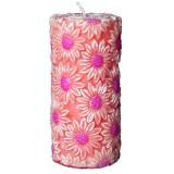 شمع تزئینی استوانه ای مدل گل آفتابگردان افروز