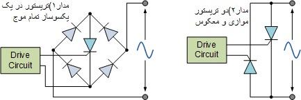 معادل تریستوری ترایاک
